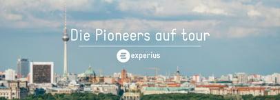 Banner Pioneers auf tour