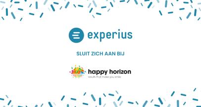Experius sluit zich aan bij Happy Horizon