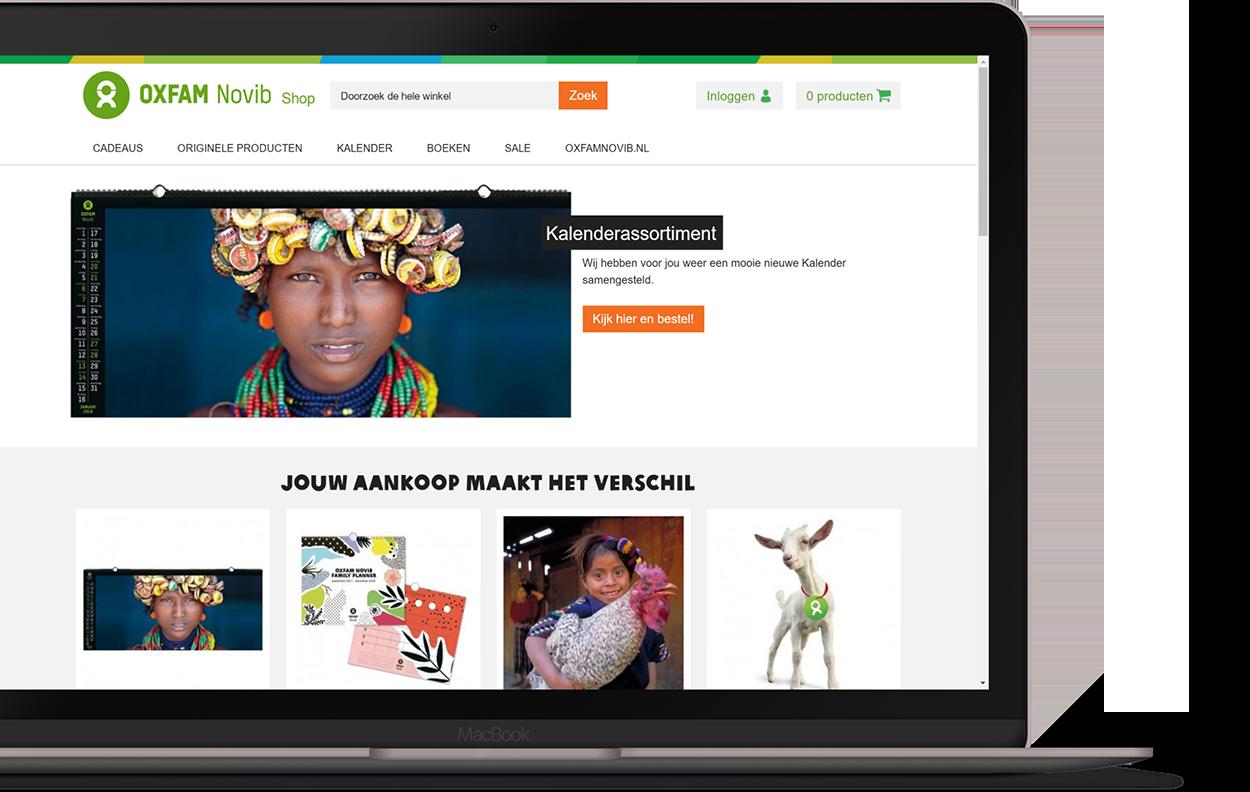 Webshop als multimedia platform