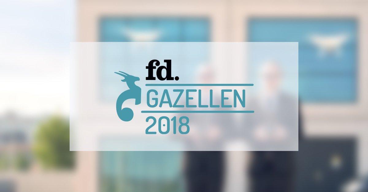 Experius zes jaar op rij winnaar FD Gazellen Award