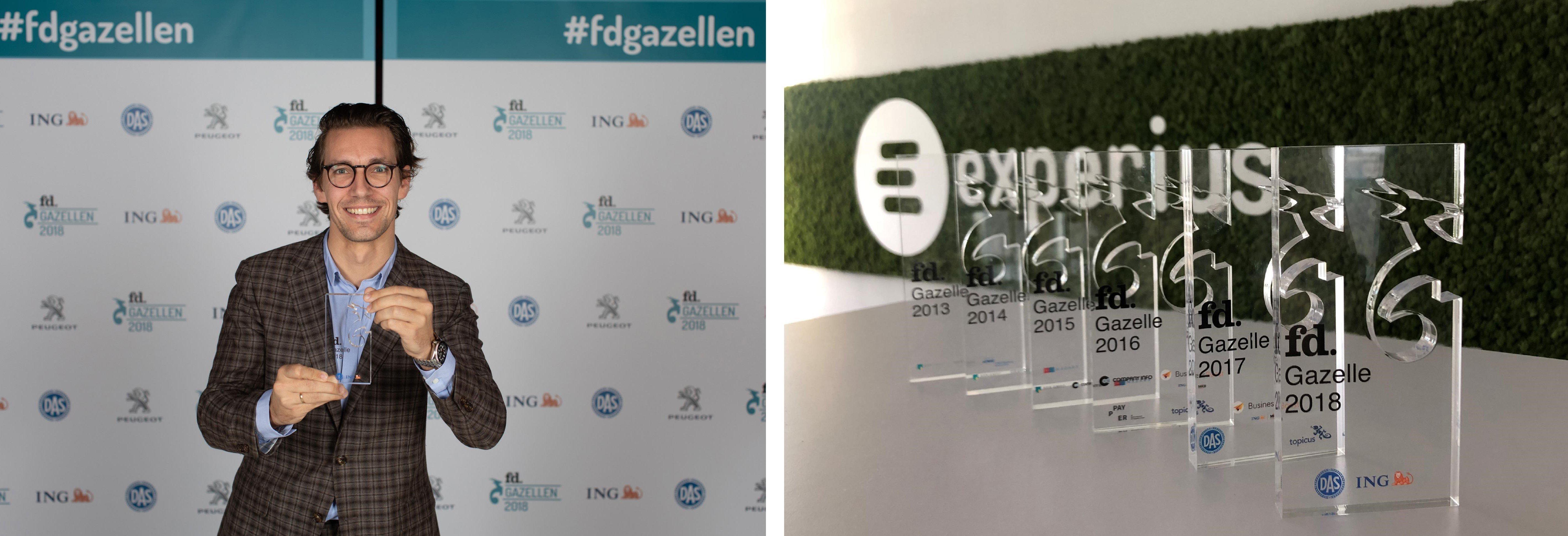 FD gazelle 2018 - Yannick + awards