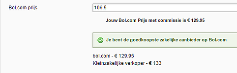 bol price example