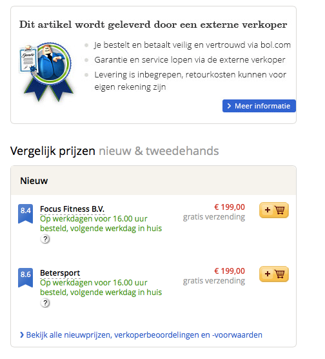 bol.com koppeling 2