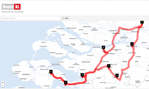 routeplanner - Route XL