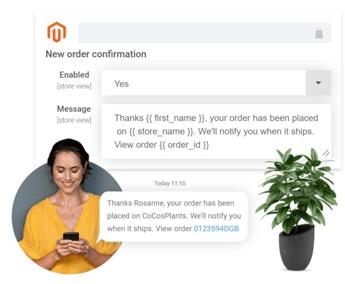 Sms voor Magento - dotdigital